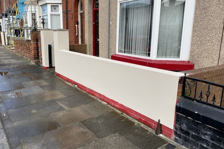 Front Wall  Fassa / Bright White