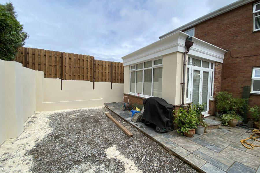 Garden Wall Fassa / Lutece